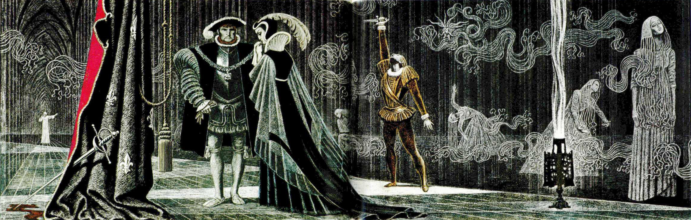 an analysis of the madness of hamlet and ophelia in the play hamlet by william shakespeare William shakespeare's ophelia in her madness, ophelia is an autonomous being showcasing her subjectivity by thinking the play hamlet 1.